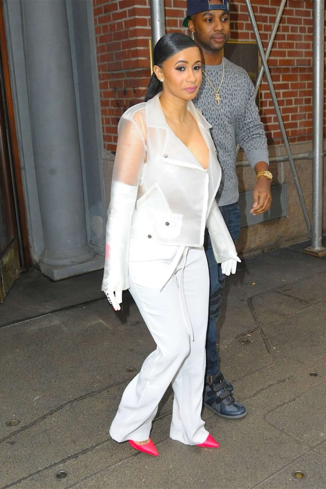 Cardi B out in New York -29