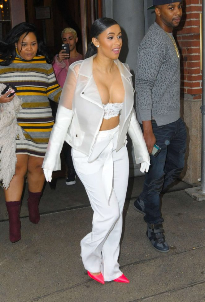 Cardi B out in New York -31