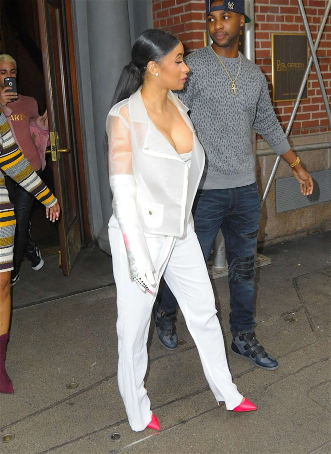 Cardi B out in New York -33