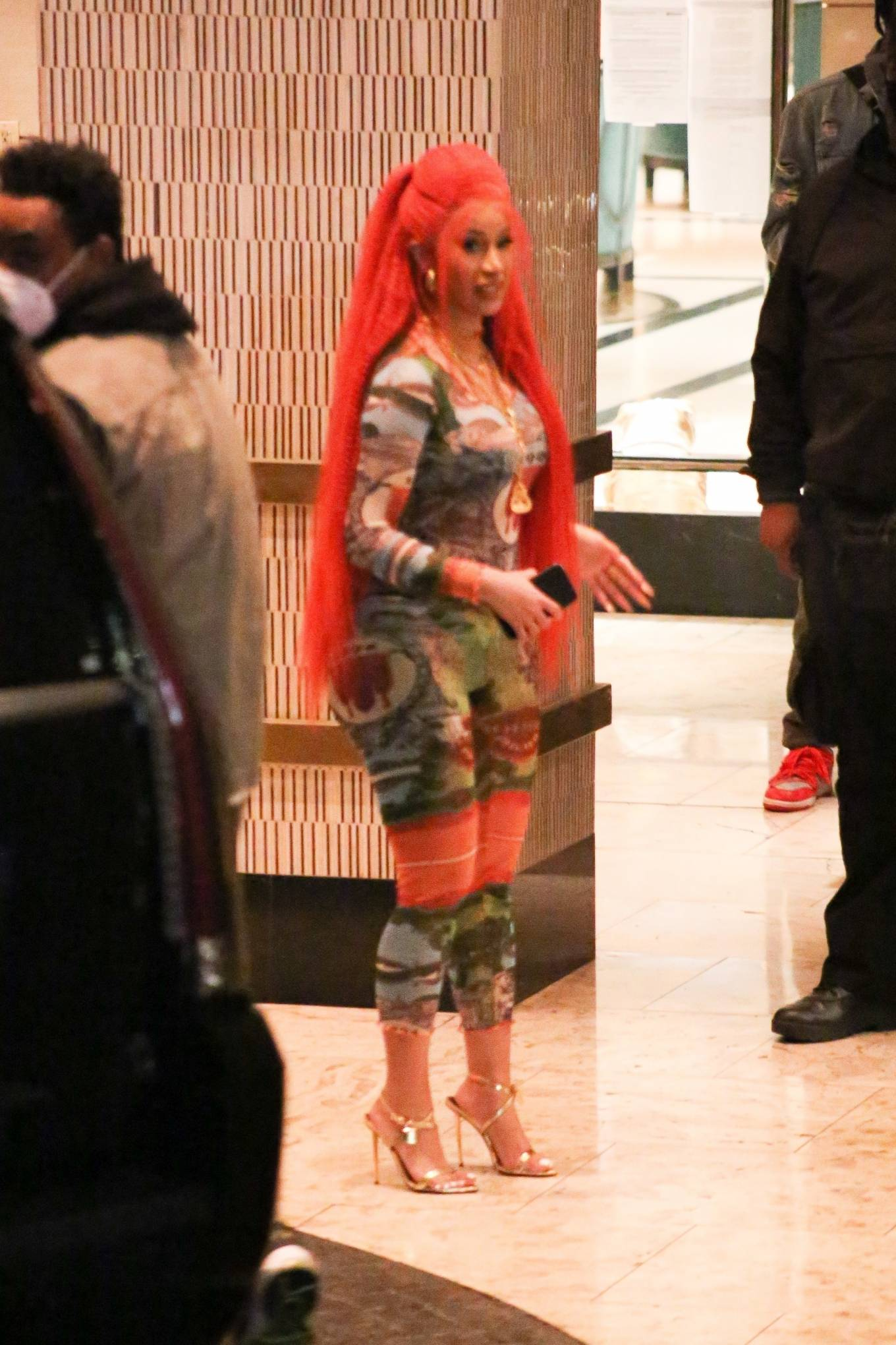 Cardi B - Out in West Hollywood