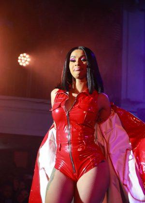 Cardi B - Performing at Fashion Nova x Cardi B Event in Hollywood