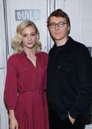 Carey Mulligan and Paul Dano - Visit AOL Build in NYC