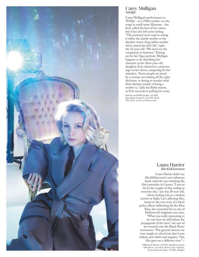 Carey Mulligan - British Vogue Magazine (February 2019)