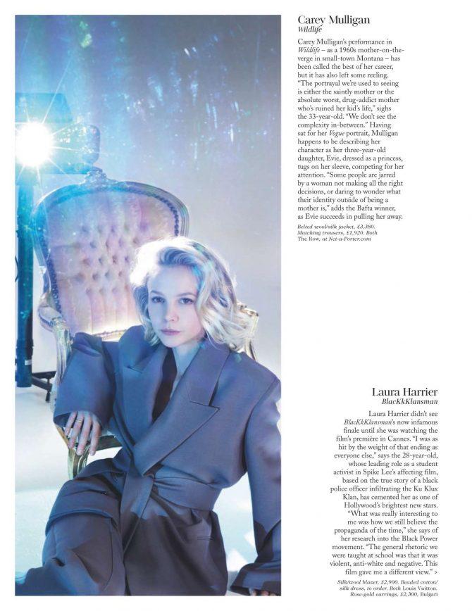 Carey Mulligan – British Vogue Magazine (February 2019)