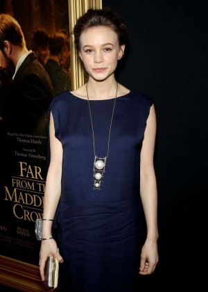 Carey Mulligan - 'Far From The Madding Crowd' Premiere in New York City
