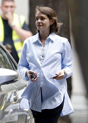 Carey Mulligan - Filming 'Collateral' set in London