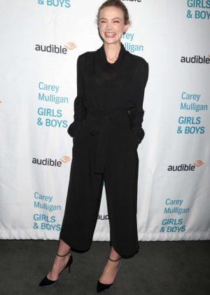 Carey Mulligan - 'Girls & Boys' Off-Broadway Opening Night in NY