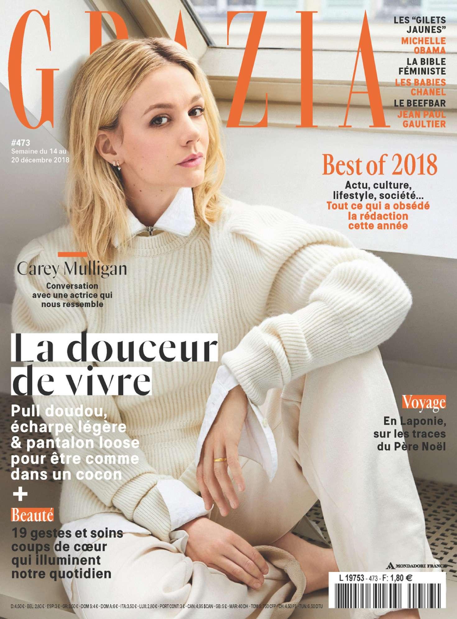 Carey Mulligan 2018 : Carey Mulligan: Grazia France 2018 -02