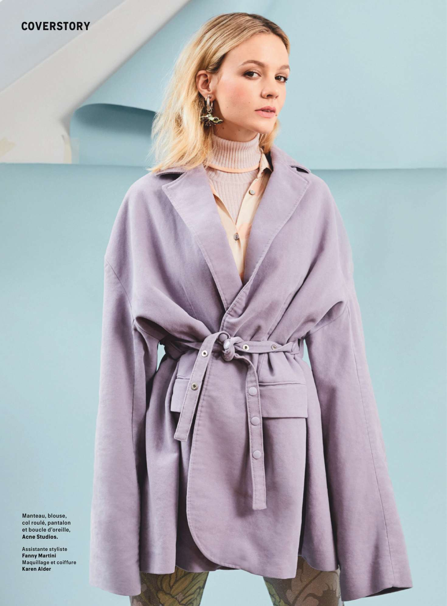 Carey Mulligan 2018 : Carey Mulligan: Grazia France 2018 -07