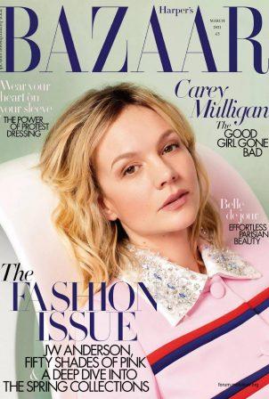 Carey Mulligan - Harper's Bazaar UK - March 2021
