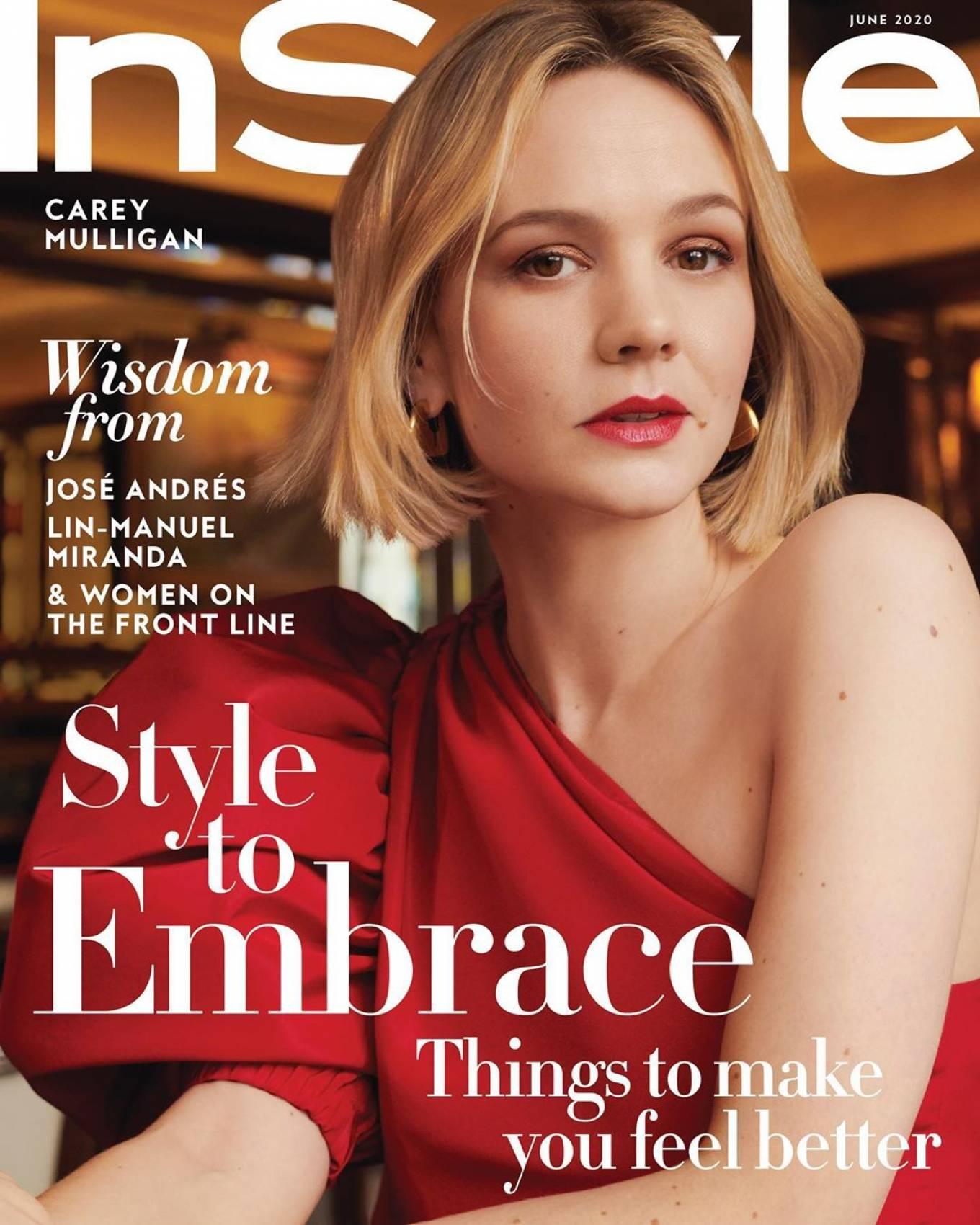 Carey Mulligan 2020 : Carey Mulligan – InStyle Magazine 2020-04
