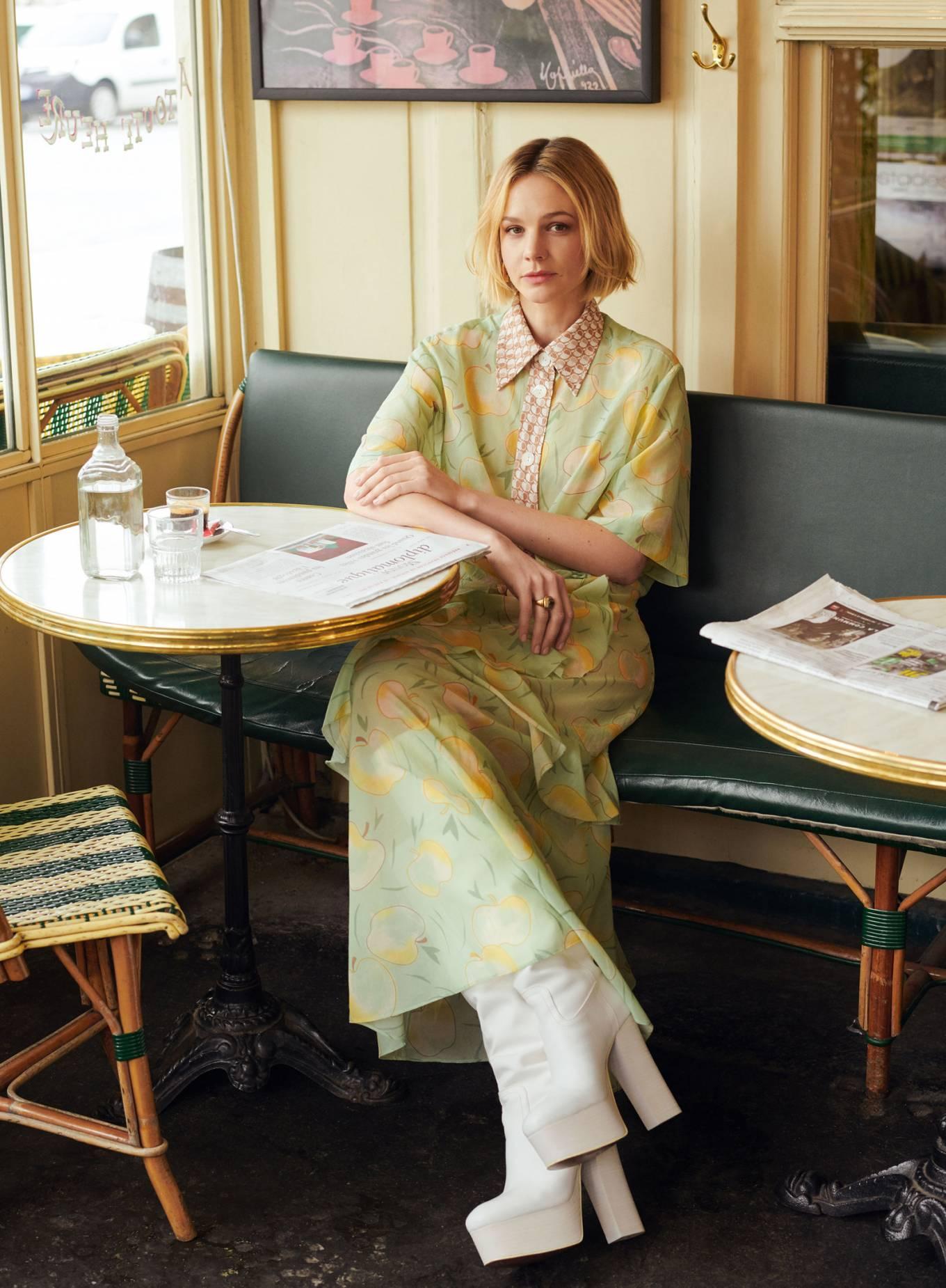Carey Mulligan 2020 : Carey Mulligan – InStyle Magazine 2020-09