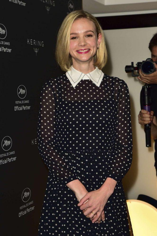 Carey Mulligan - Kering Talks Women in Motion at 2018 Cannes Film Festival