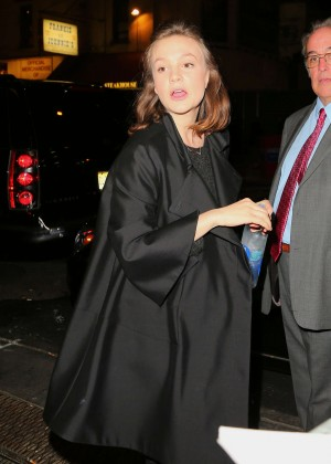 Carey Mulligan Night out in NYC