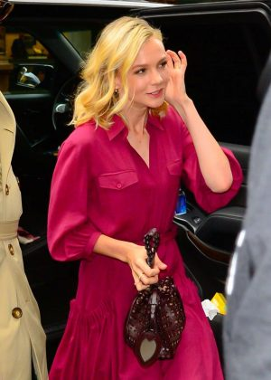 Carey Mulligan - Out and about in NYC