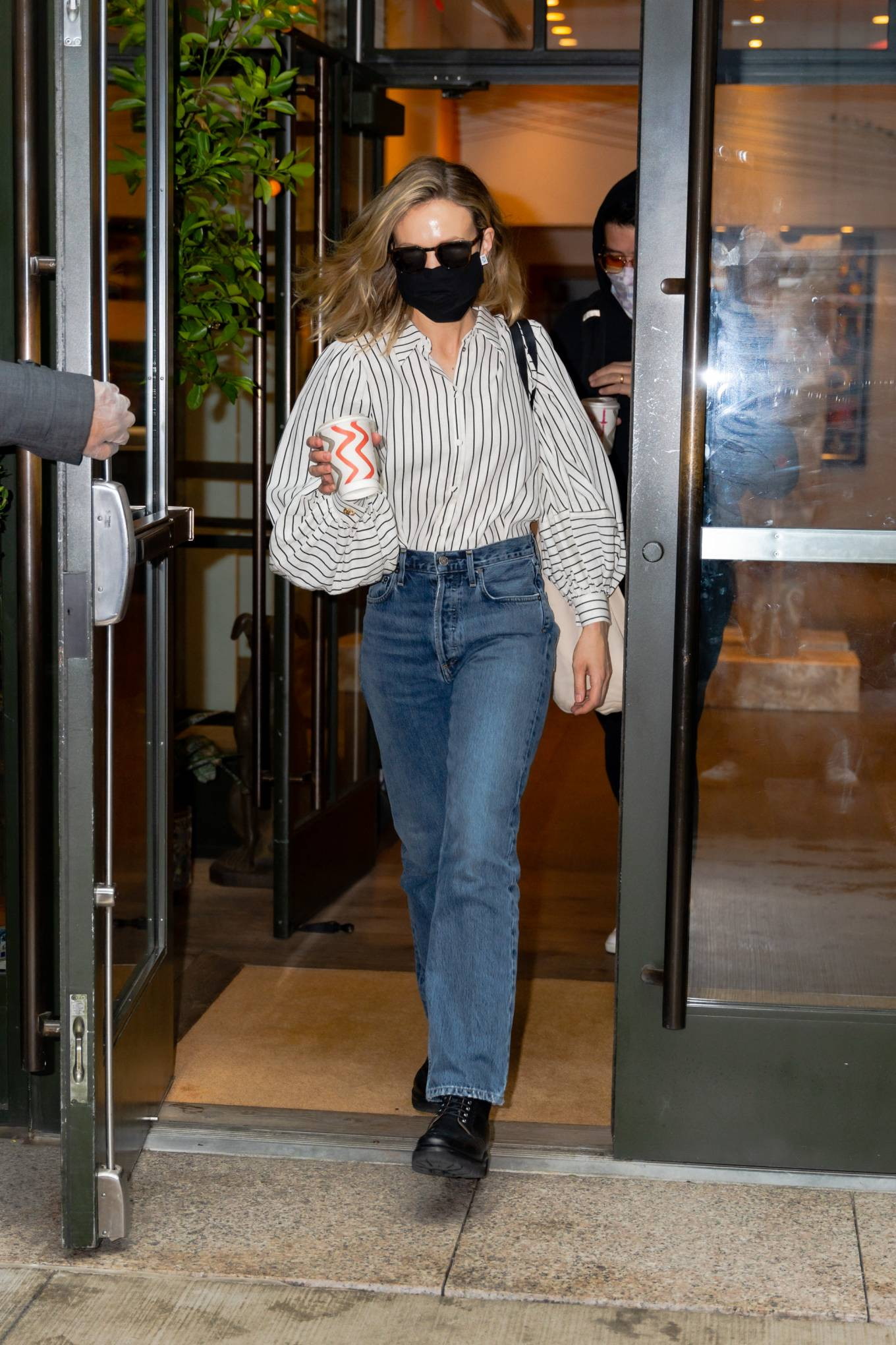 Carey Mulligan 2021 : Carey Mulligan – Seen after she hosted Saturday Night Live in New York-01
