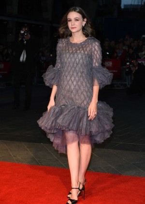 Carey Mulligan - 'Suffragette' Premiere during the BFI London Film Festival