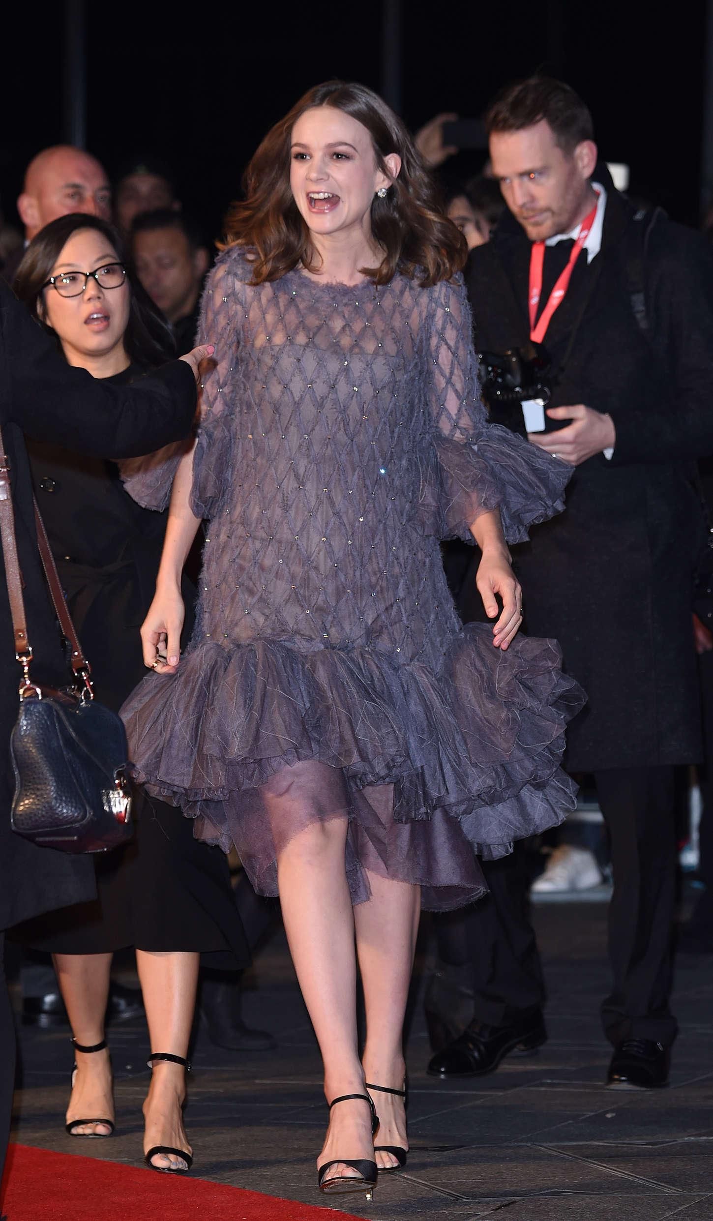 Carey Mulligan 2015 : Carey Mulligan: Suffragette Premiere -09