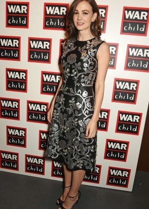 Carey Mulligan - The War Child Winter Wassail curated by Carey Mulligan and Marcus Mumford in London