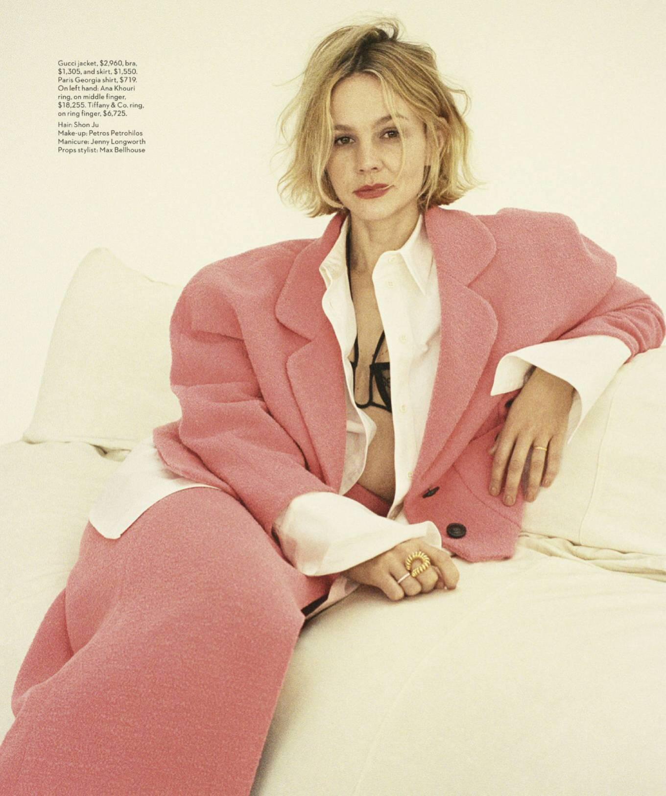 Carey Mulligan - Vogue Australia Magazine (May 2020)
