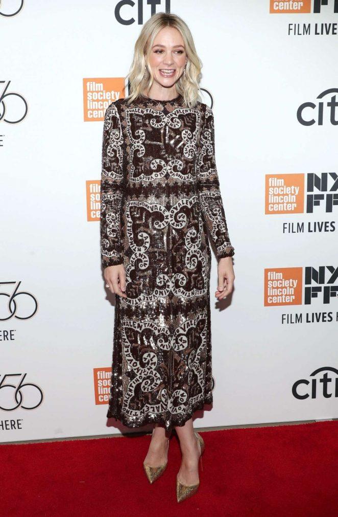 Carey Mulligan - 'Wildlife' Premiere at 56th New York Film Festival in NYC