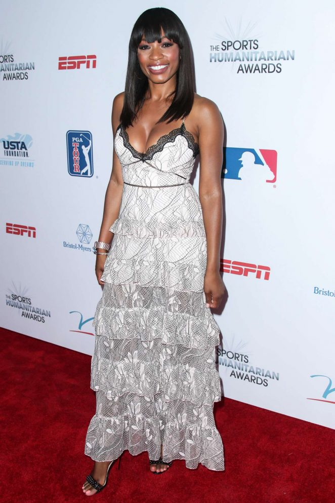 Cari Champion - 3rd Annual Sports Humanitarian Of The Year Awards in LA