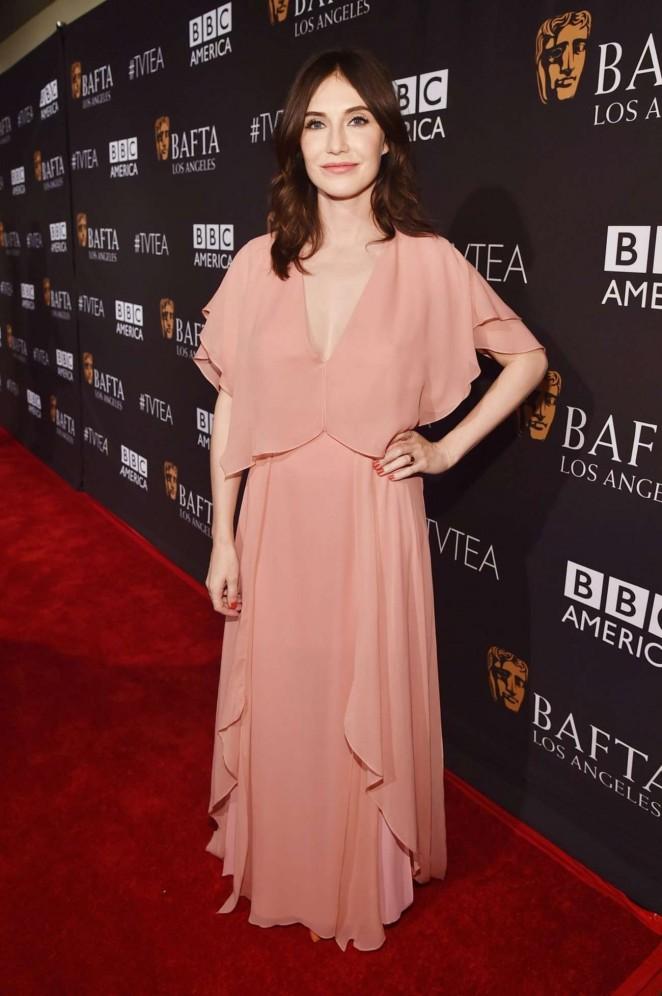 Carice Van Houten: 2015 BAFTA Los Angeles TV Tea -01