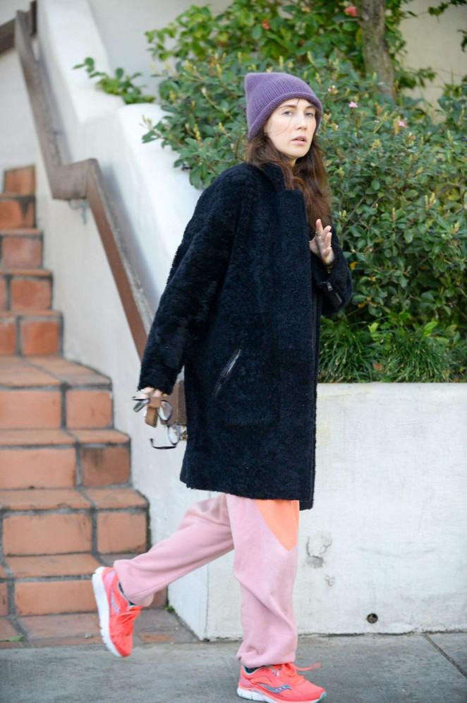 Carice van Houten - Leaves house in West Hollywood