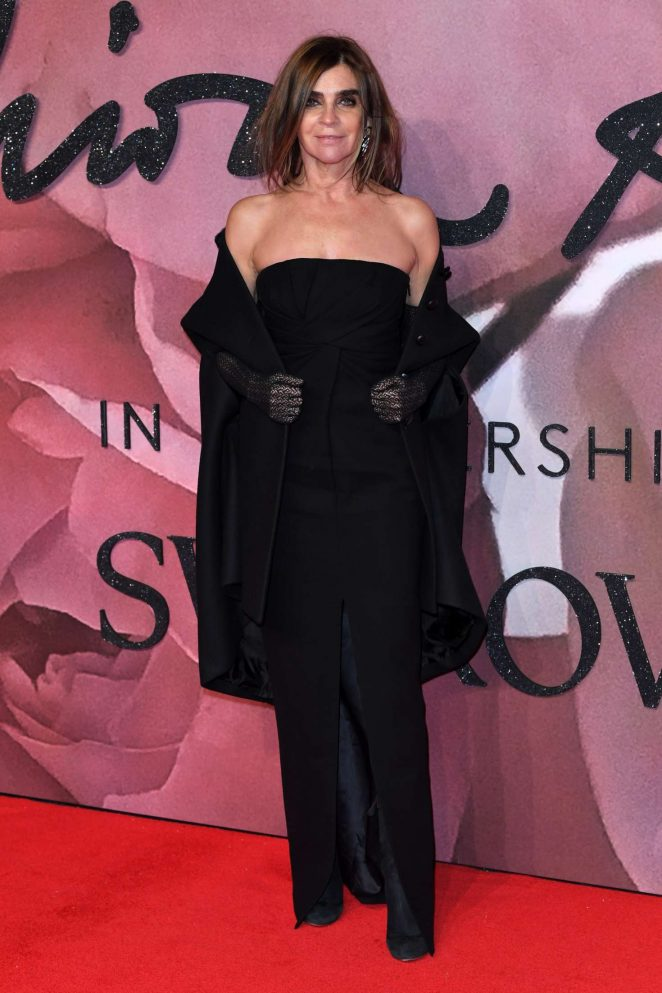 Carine Restoin-Roitfeld - The Fashion Awards 2016 in London
