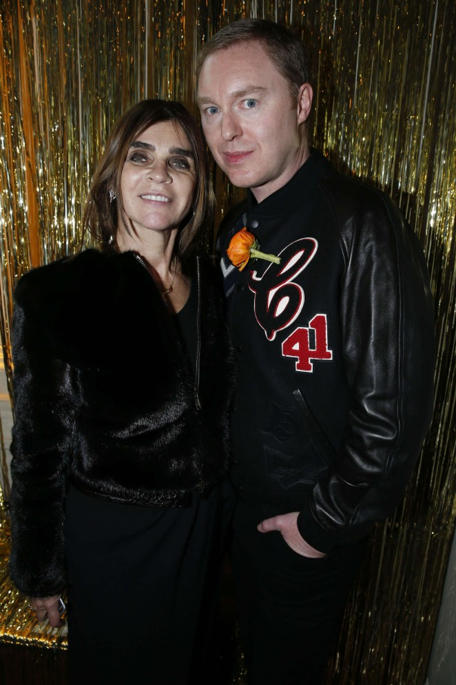 Carine Roitfeld - Coach Party 2016 in Paris