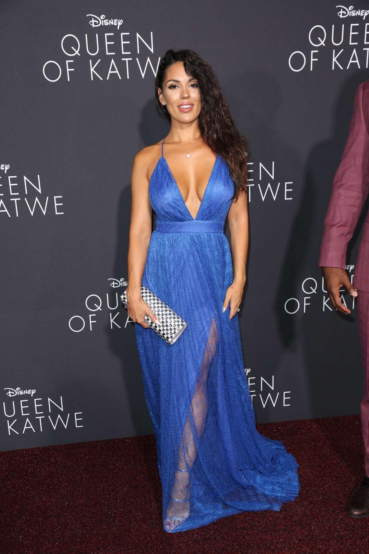 Carissa Rosario 2016 : Carissa Rosario: Queen of Katwe LA Premiere -07