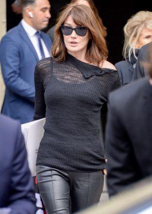 Carla Bruni Chanel Fashion Show 2018 In Paris 06 Gotceleb