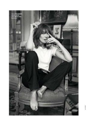 Carla Bruni - Elle France Magazine (December 2017)