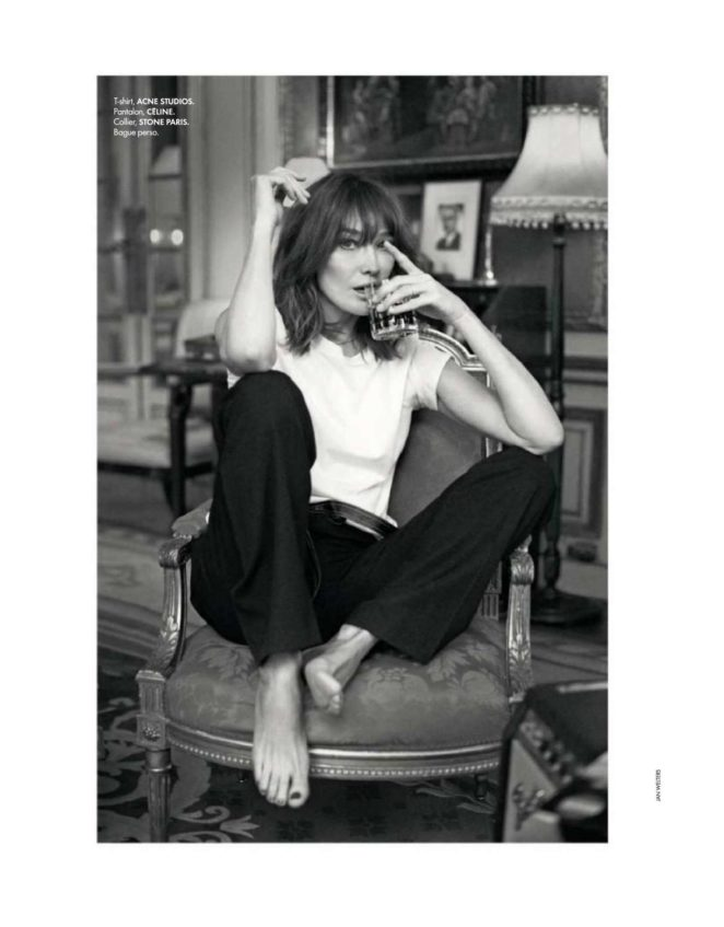 Carla Bruni - Elle France Magazine (December 2017)