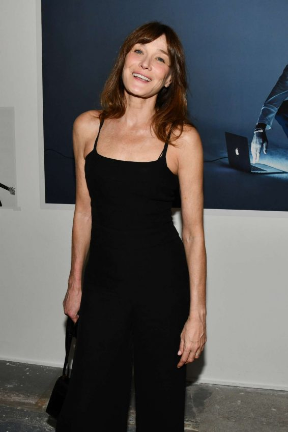 Carla Bruni - 'Mondino Numero' Exhibition Launch in Paris