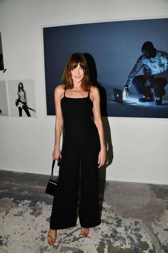Carla Bruni – Mondino Numero Exhibition Launch in Paris-13