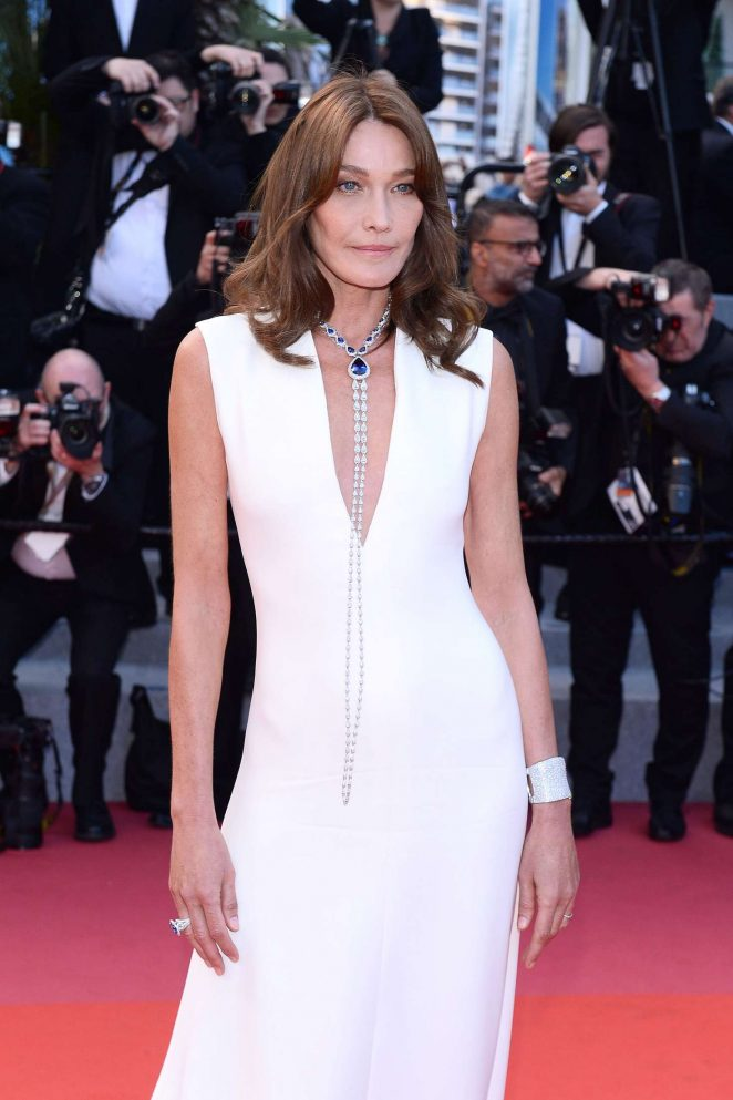 Carla Bruni - 'Sink or Swim' Premiere at 2018 Cannes Film Festival