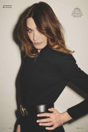 Carla Bruni - Vanity Fair (Espana April 2021)