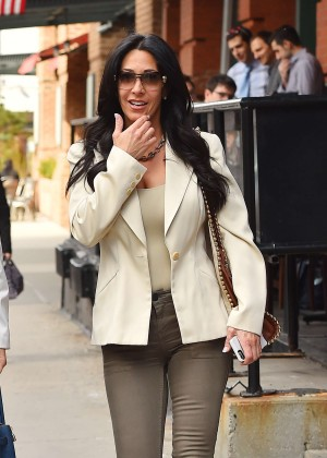 Carla Facciolo out in Manhattan