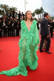 Carla Ginola - 'A Hidden Life' Premiere at 2019 Cannes Film Festival