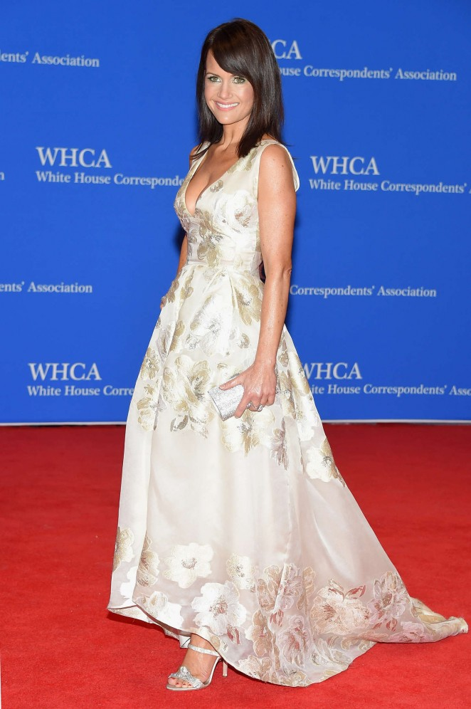 Carla Gugino - 2015 White House Correspondents' Association Dinner in Washington