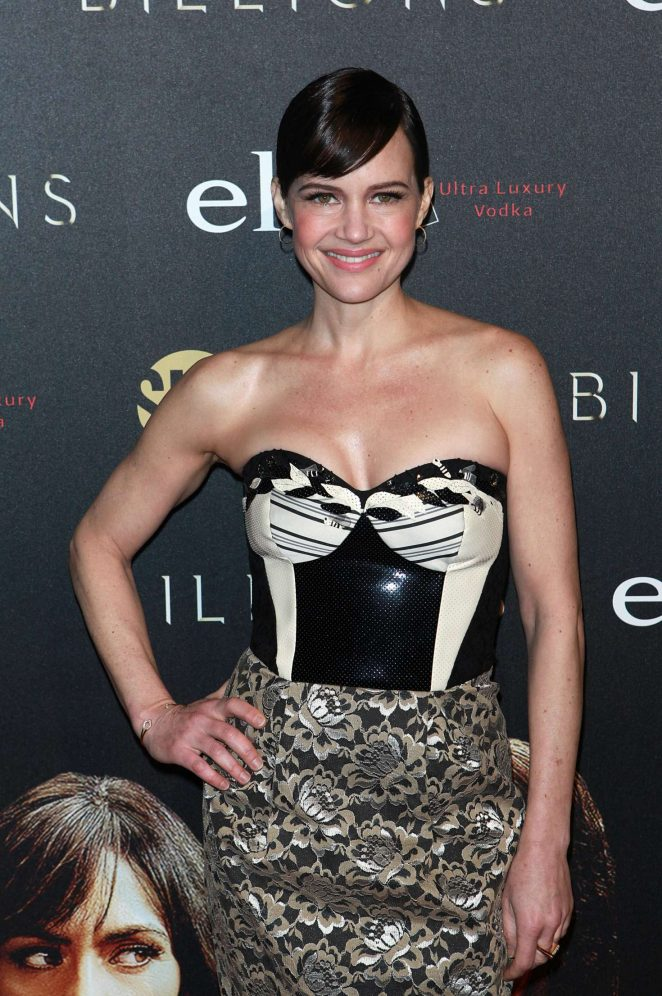 Carla Gugino - 'Billions' Premiere Season 2 in New York