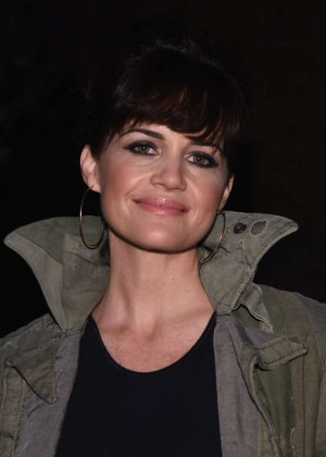 Carla Gugino - Greg Lauren Fashion Show 2015 in NYC