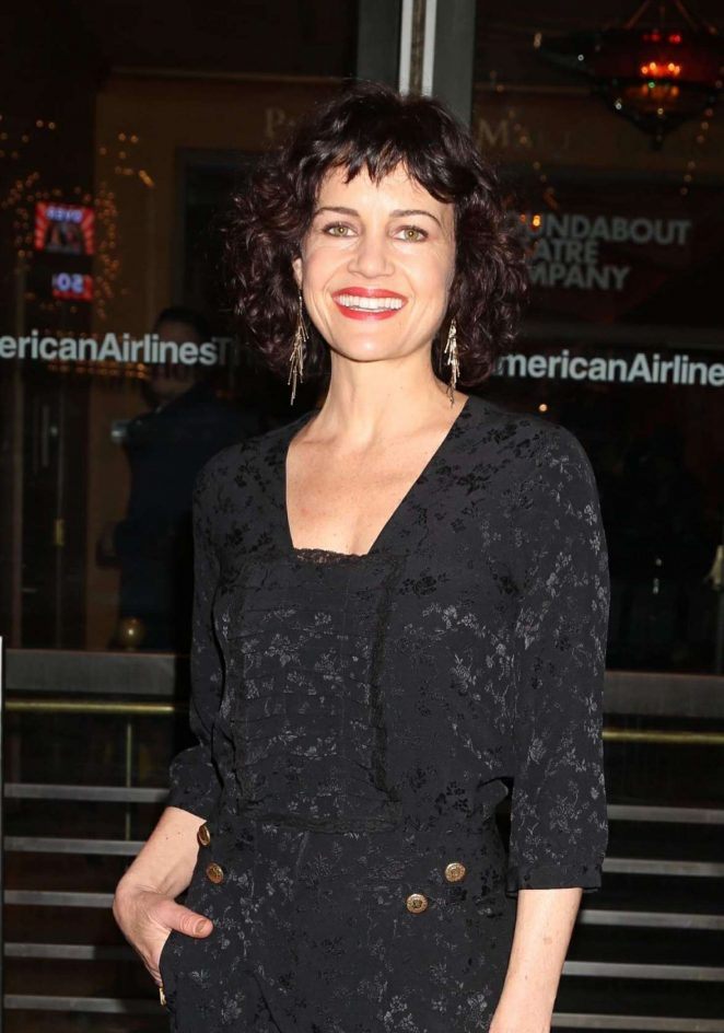 Carla Gugino - John Lithgow Stories by Heart Opening Night in NYC
