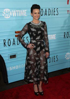 Carla Gugino: Roadies LA Premiere -02