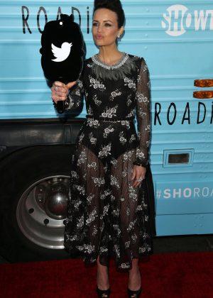 Carla Gugino: Roadies LA Premiere -04