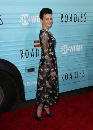 Carla Gugino: Roadies LA Premiere -05