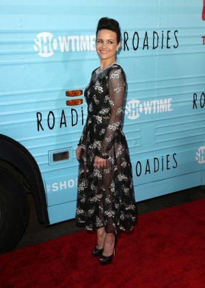 Carla Gugino: Roadies LA Premiere -09