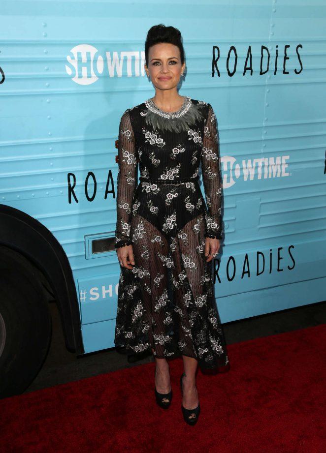 Carla Gugino: Roadies LA Premiere -12