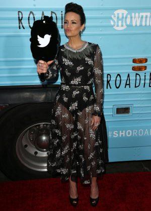 Carla Gugino: Roadies LA Premiere -13